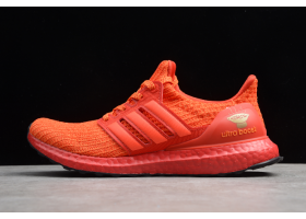 2019 Adidas Ultra Boost 4.0 Orange Red Black White FW3723 For Sale