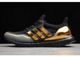2019 adidas Ultra Boost Black Gold EG8102 For Sale