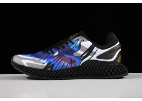 2020 Adidas Alphaedge 4D LTD Blue Black Printing Running Shoes FV5278 For Sale