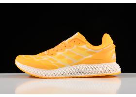 2020 Adidas Alphaedge 4D LTD M Orange Printing Running Shoes FV5318 For Sale