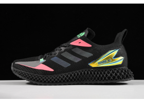 2020 adidas Alpheadge 4D LTD M Black Pink Green Metallic Gold FW7091 For Sale