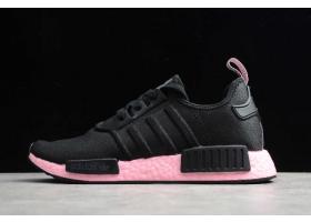 2020 adidas NMD R1 Black True Pink EF4272 For Sale