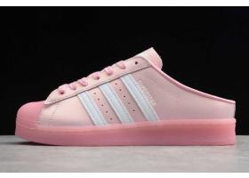 2020 adidas Superstar Mule True Pink FX2756 For Sale