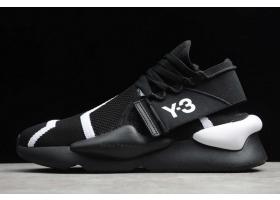 2020 adidas Y 3 Kaiwa Knit Black Cloud White EF2628 For Sale