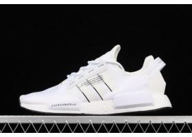 2021 adidas NMD R1 V2 Brilliant Basics White GV7557 For Sale