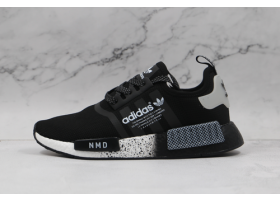 2021 adidas Originals NMD R1 Casual Black White S24030 For Sale