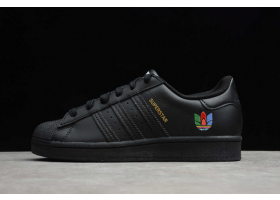 2021 adidas Superstar Core Black Real Magenta FW3695 For Sale