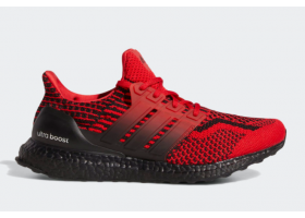 2021 adidas Ultra Boost 5.0 DNA Scarlet Core Black H01014 For Sale