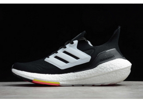 2021 adidas Ultraboost 21 Black White FY0356 For Sale