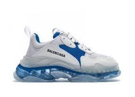 Clear Sole Gray Blue