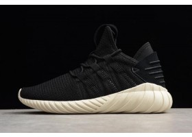 Mens and Womens adidas Tubular Dawn Black Off White Running Shoes