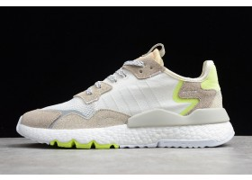 New adidas Nite Jogger 2019 Boost 3M Grey White Volt