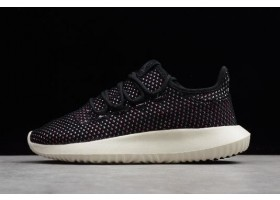 New adidas Originals Tubular Shadow CK Black White Pink