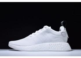 Newest adidas NMD R2 Triple White