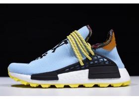 Pharrell Williams x adidas Hu NMD Inspiration Blue Yellow Black