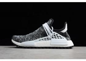 Pharrell x adidas NMD Hu Trail Core Black Footwear White