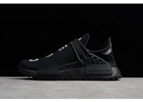 Pharrell x adidas NMD Hu Trail NERD Core Black Reflective Silver