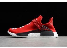 Pharrell x adidas NMD Human Race Red Footwear White Black