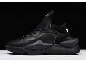 Yohji Yamamoto adidas Y 3 Kaiwa Triple Black Sneakers