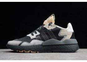 adidas Nite Jogger 2019 Black Grey Creamy White