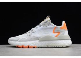 adidas Nite Jogger 2019 White Grey Orange