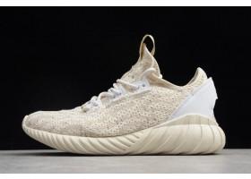 adidas Originals Tubular Doom Sock Primeknit Clear Brown Chalk White White