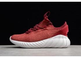 adidas Tubular Doom Sock Primeknit Mystery Red White