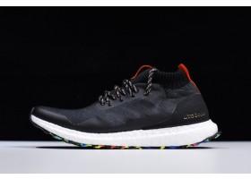 adidas Ultra Boost Mid Black Multicolor Black