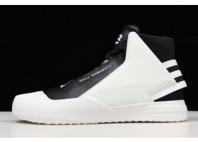 adidas Y 3 Bball Tech Hi Top White Black