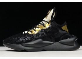 adidas Y 3 Kaiwa Chunky Versave Black Gold Flower
