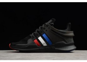 atmos x adidas EQT Support ADV Black Red White Blue