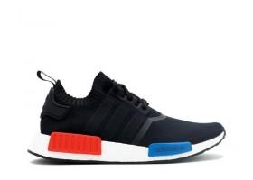 NMD Runner PK Black White Red Blue Sneaker