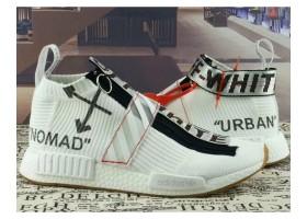 New 2018 NMD City Sock White