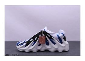 Adidas Yeezy 451 White Black Blue 1