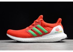 2019 Adidas Ultra Boost 2.0 Red Green White FW5231 For Sale