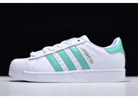2019 adidas Originals Superstar Hi Res Green