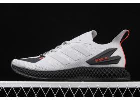 2020 adidas Alphaedge 4D LTD M Grey Black Red EG6512 For Sale
