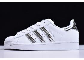 2020 adidas Originals Superstar White Mirror Silver FX4272 For Sale