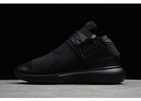 2020 adidas Y 3 QASA High Triple Black S83173 For Sale