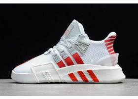 2021 adidas EQT Bask ADV White Red Grey FW4250 For Sale