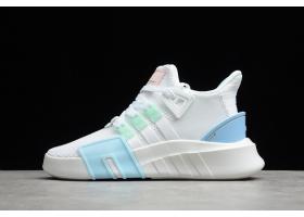 2021 adidas EQT Basketball ADV White Blue Pink FZ0215 For Sale