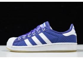 2021 adidas Originals Superstar Blue White S82582 For Sale