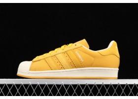 2021 adidas Originals Superstar Yellow Sail BD8067 For Sale