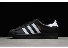 2021 adidas Superstar Black White Metallic Gold EG64959 For Sale