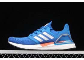 2021 adidas Ultraboost 20 Football Blue FX7978 For Sale