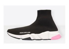 Balenciaga Speed Trainer Black white pink