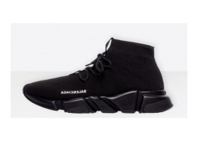 Balenciaga Speed Trainer lace-ups black