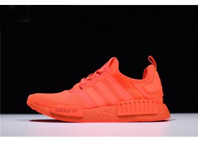 New adidas NMD R1 Monochrome Pack Solar Red Solar Red