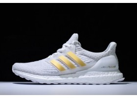 New adidas Ultra Boost 3.0 White Gold