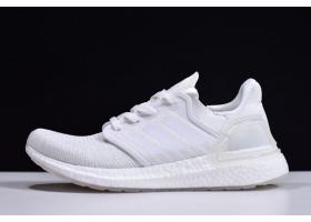 New adidas Ultraboost 20 Triple White EG0725 For Sale